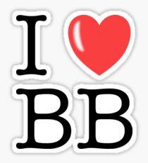 I Love the BB Sticker
