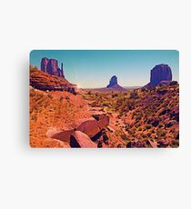 Paint The Valley Canvas Print
