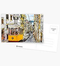 Lisboa Tram Postcards