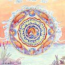 Water Mandala by Julie Ann Accornero