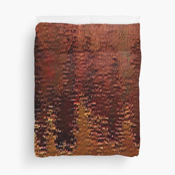 Copper Bronze Duvet Cover