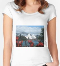 Sydney Icons Women's Fitted Scoop T-Shirt