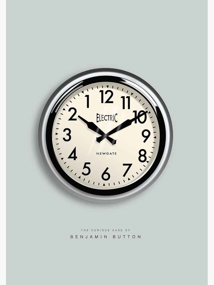 The Curious Case of Benjamin Button - Alternative Movie Poster by MoviePosterBoy