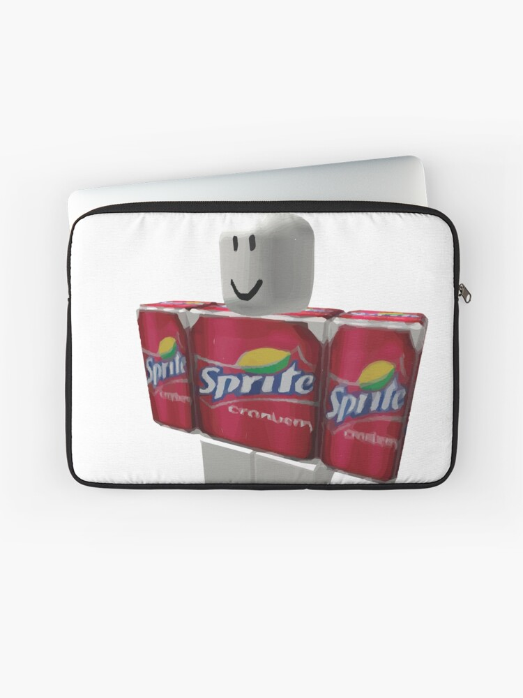 Roblox Sprite Cranberry T Shirt Sprite Cranberry Roblox Guy Laptop Sleeve By Eggowaffles Redbubble