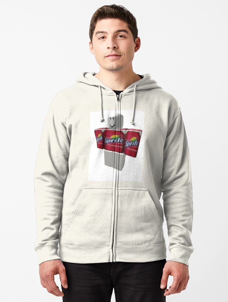 Roblox Sprite Cranberry T Shirt Sprite Cranberry Roblox Guy Zipped Hoodie By Eggowaffles Redbubble