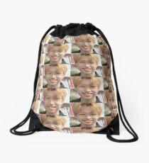 FELIX DERP MEME STRAY KIDS Drawstring Bag