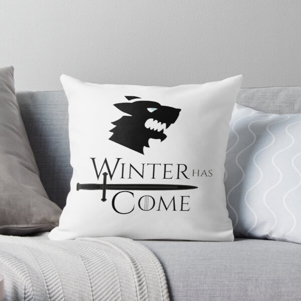Game of Thrones - Winter has Come! Throw Pillow