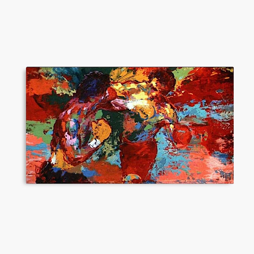 Rocky VS. Apollo Canvas Print