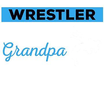 Wrestling Grandpa Shirt, Wrestling Grandpa Tshirt, Wrestling Grandpa Gift, Wrestling Grandpa, Wrestling Tshirt, Gifts For Grandpa by mikevdv2001