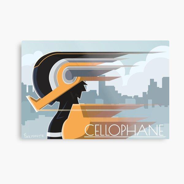 Taping Hero: Cellophane Hanta Sero Metal Print
