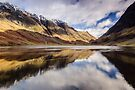 Glen Coe Reflections by Mark Greenwood