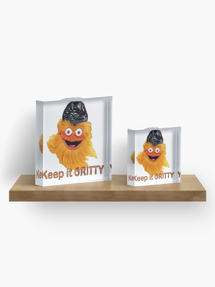 Alternate view of Gritty Philadelphia Flyers Mascot Philly Keep It 2020 Acrylic Block