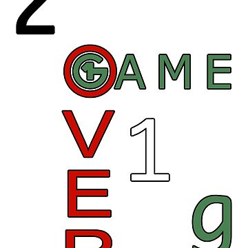 2o1g Game Over by Plotter4you