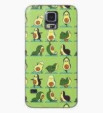 Avocado Yoga Hülle & Klebefolie für Samsung Galaxy