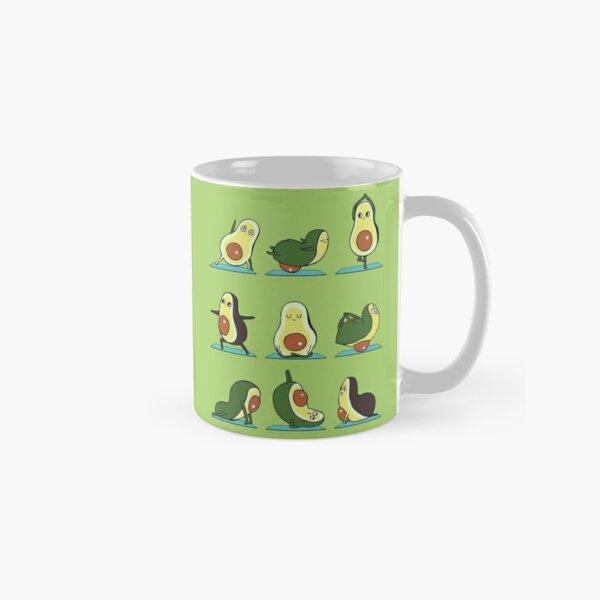 Avocado Yoga Classic Mug