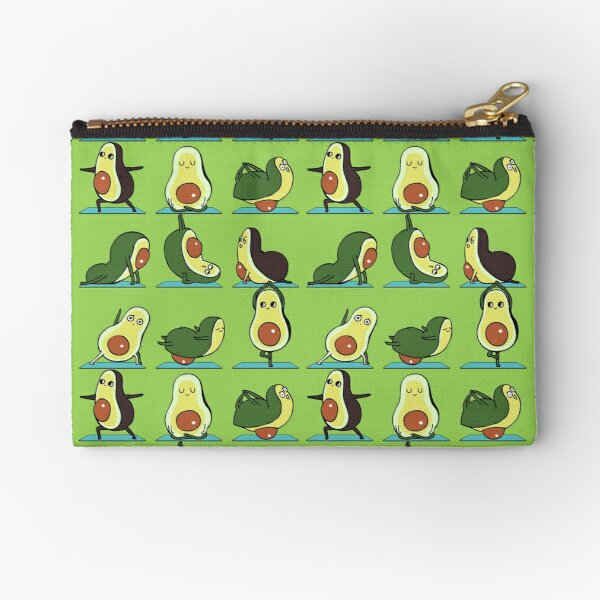 Avocado Yoga Zipper Pouch