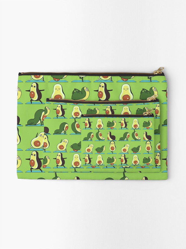 Alternate view of Avocado Yoga Zipper Pouch