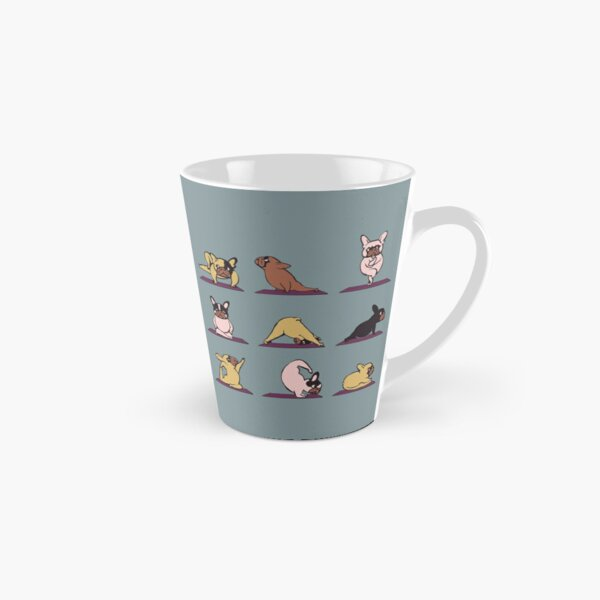 Frenchie Yoga Tasse (konisch)