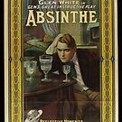 Vintage Hollywood Nostalgia Absinthe Film Movie Advertisement Poster by jnniepce