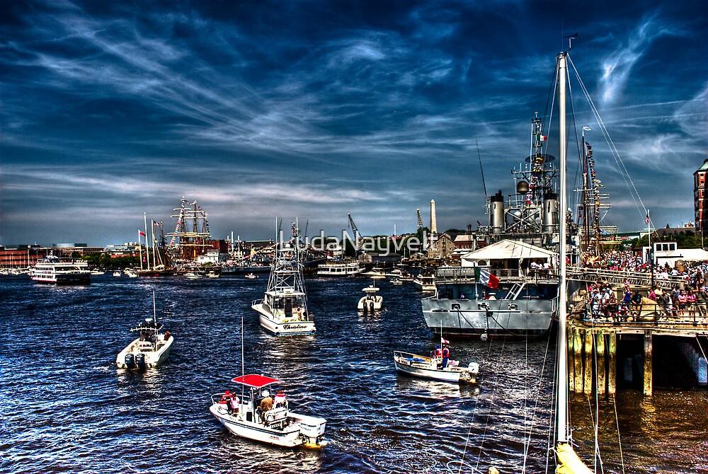 Busy Harbor by LudaNayvelt