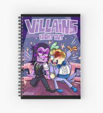Voxman [Villains Night Out] Spiral Notebook