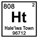 Haleiwa Town Periodic Table by northshoresign