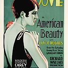 Vintage Hollywood Nostalgia American Beauty Film Movie Advertisement Poster by jnniepce