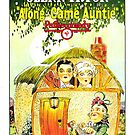 Vintage Hollywood Nostalgia Along Came Auntie Film Movie Advertisement Poster by jnniepce