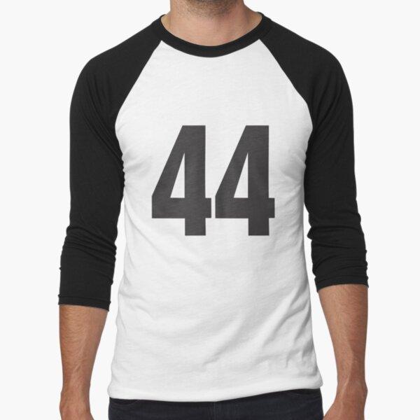 44 Mandy Baseball ¾ Sleeve T-Shirt