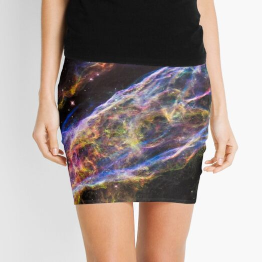 #astronomy #abstract #surreal #science #fantasy #space #fractal #energy #galaxy #design #plasma #horizontal #sphere #planetspace #large #starfield #milkyway Mini Skirt