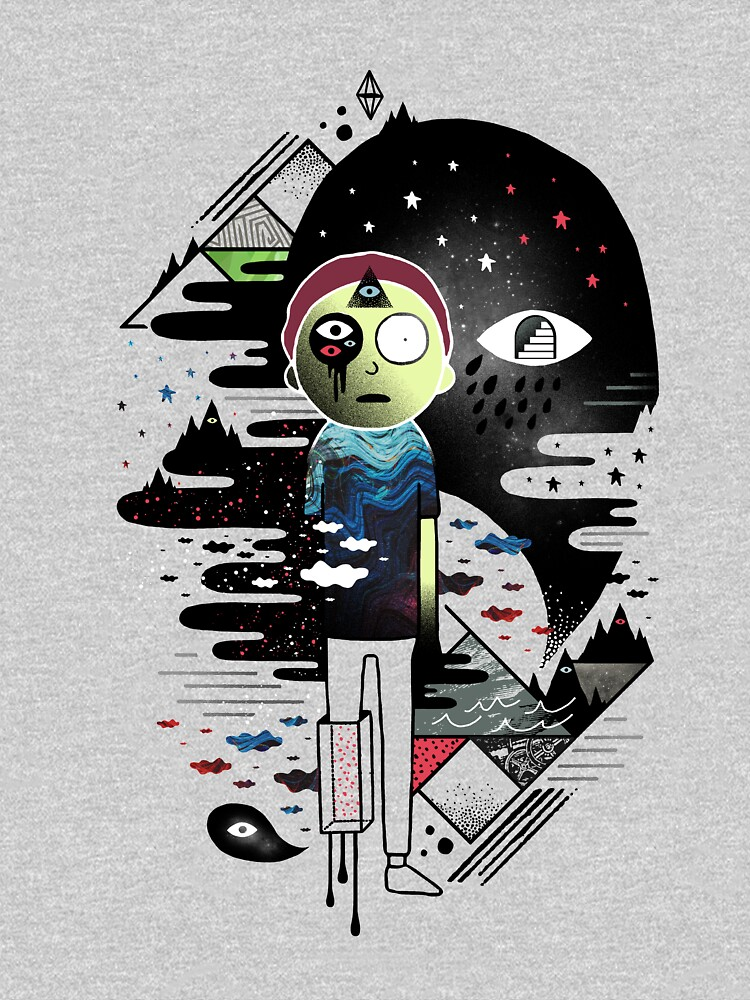 Inner Dimensional Morty by ordinaryfox