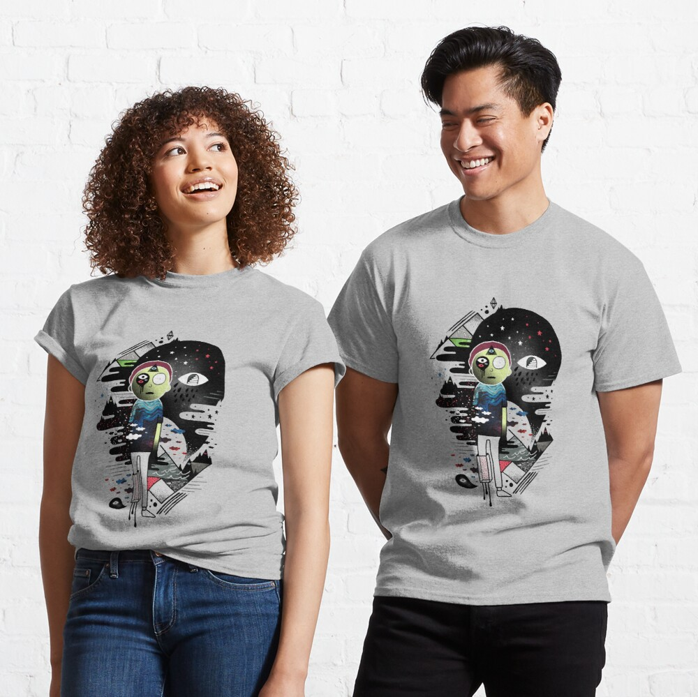 Inner Dimensional Morty Classic T-Shirt