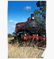 Restored C17 Locomotive Poster