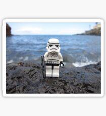 Dave Stormtrooper Tenerife at Beach Sticker