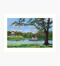 Mary Poppins in the park Art Print