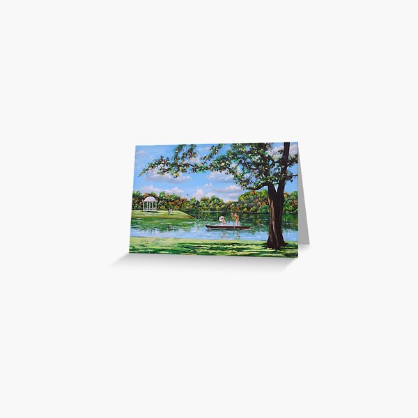 Mary Poppins in the park Greeting Card