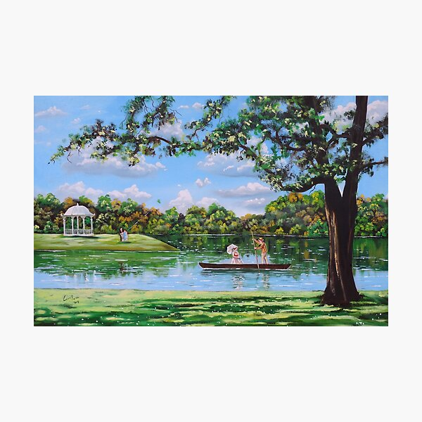 Mary Poppins in the park Photographic Print