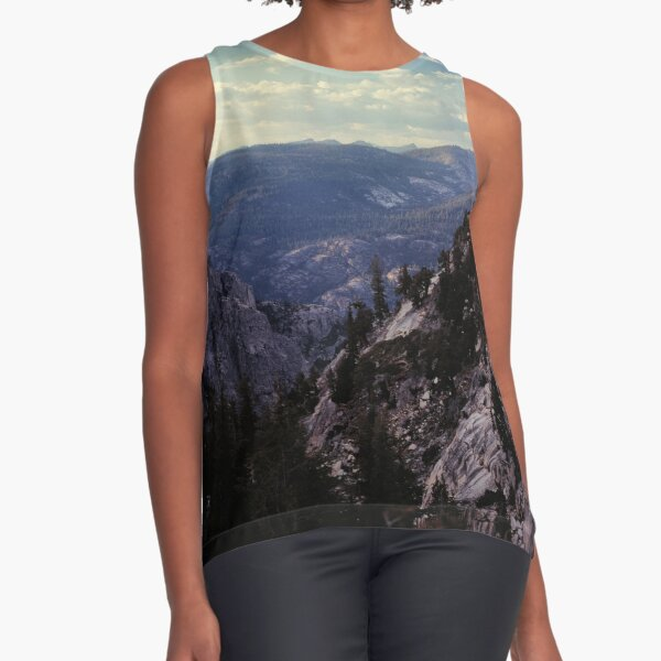 Grand Canyon of the Tuolumne - Yosemite N.P. Sleeveless Top