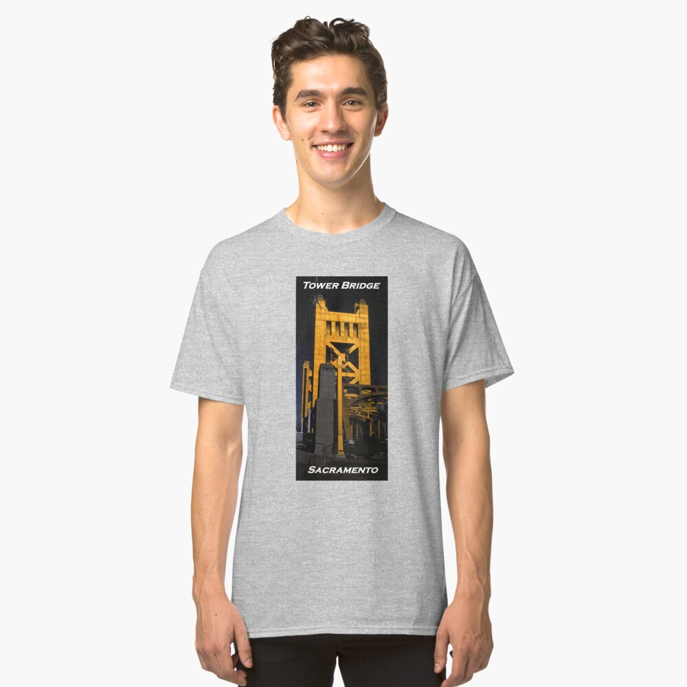 Tower Bridge, Sacramento Classic T-Shirt