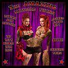 The Amazing Tattooed Twins! by Scott White