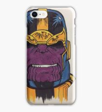thanos the first iPhone Case/Skin
