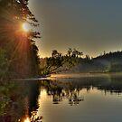 A Cariboo Lake by Skye Ryan-Evans