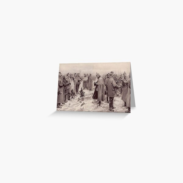 Christmas Truce, 1914 Greeting Card