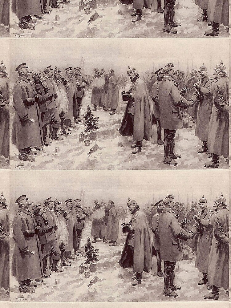 Christmas Truce, 1914 by edsimoneit