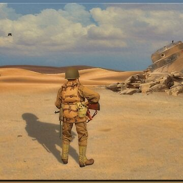 Discovery in the Desert 1944 by rgerhard