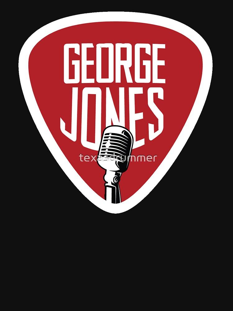George Jones by texasdrummer