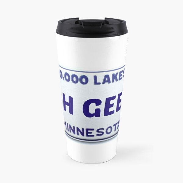 Minnesota: Oh Geez Travel Mug
