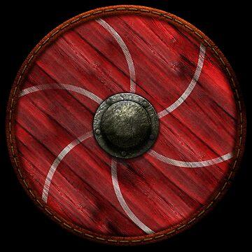 Viking Shield - 6 Panel by kayakcapers