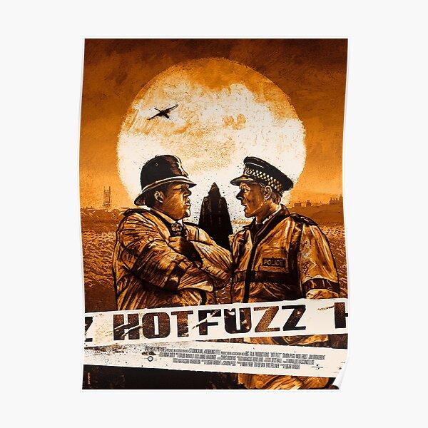 Hot Fuzz (Orange) Poster