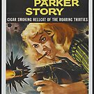 Vintage Hollywood Nostalgia Bonnie Parker Story Film Movie Advertisement Poster by jnniepce